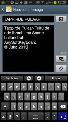 Fulah Language Pack 20130727