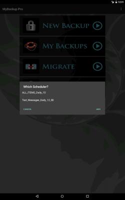 My Backup 4.5.4