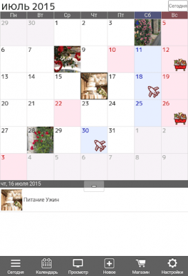Календарь и органайзер Jorte 1.9.13