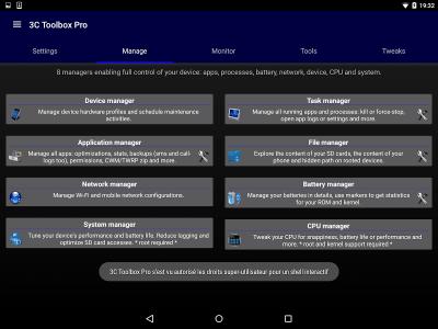 3C Toolbox (aka Android Tuner) 1.9.8