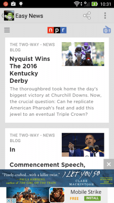 Easy News Browser(BBC&The Sun) 1.0.7.0