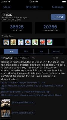 BaconReader for Reddit 3.2.2