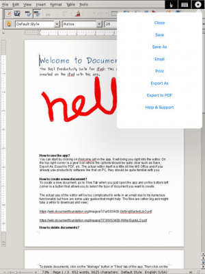 Documents Unlimited Free for iPad 3.3