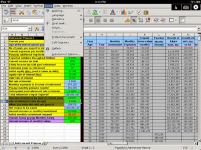 Calculator for iPad Free & Spreadsheet App Pro 3.0