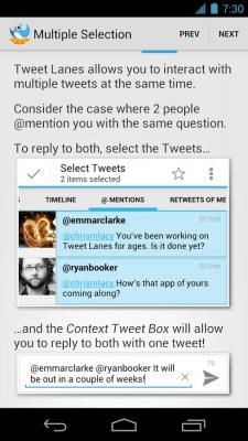 Tweet Lanes 1.5.1
