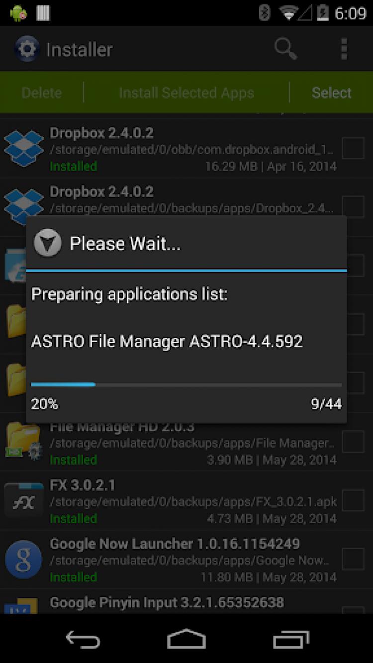Установка (Install APK) скачать на Android бесплатно
