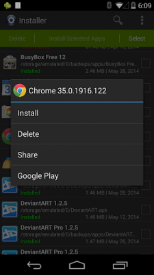 Установка (Install APK) 3.4.2