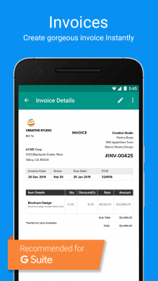 Zoho Invoice and Time Tracking 5.18.9