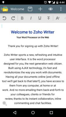 Document Management -Zoho Docs 3.5.5