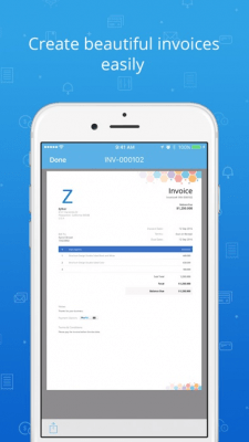 Zoho Invoice and Time Tracker 4.1.7