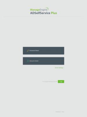 ManageEngine ADSelfService Plus 1.2.9