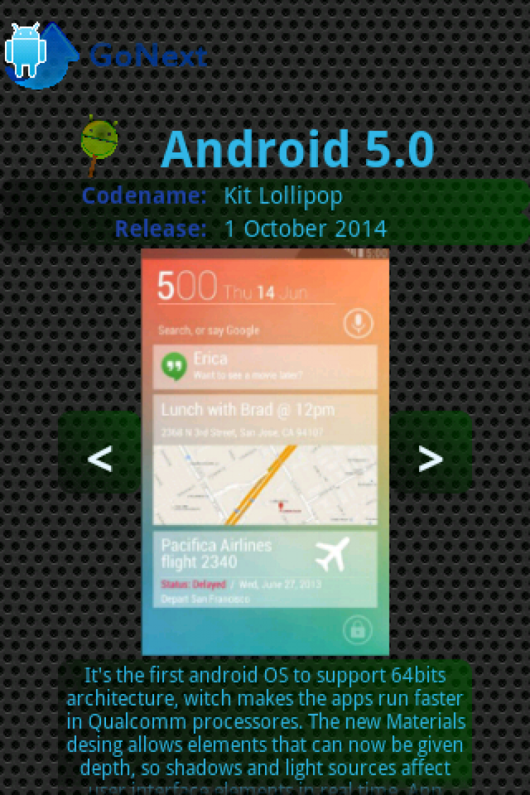Upgrade for android™ go next 1. 6. 4 free download.