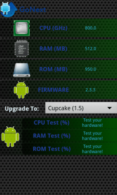 Upgrade for Android Go Next 1.7.5
