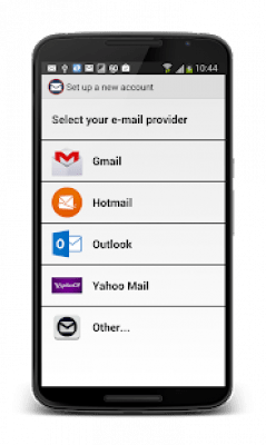 Hotmail в Outlook Fast 2.1.0