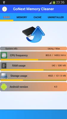 Очиститель памяти Go Next! 2.0.4