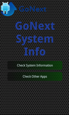 System Information Go Next! 1.2.9