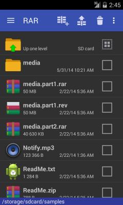 RAR для Android 5.60.build62