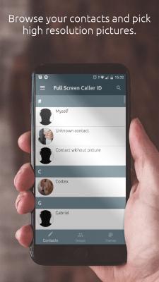 Full Screen Caller ID 12.6.6