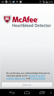 McAfee Heartbleed Detector 1.0.0.3135