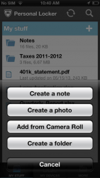 McAfee Personal Locker 1.5.0