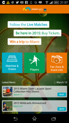 Miami Open 2.0.3