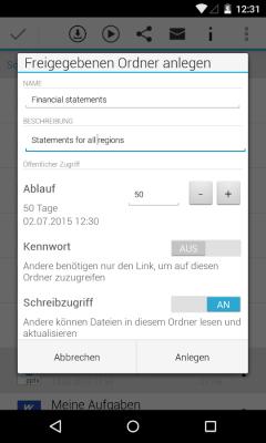 SAP Mobile Documents 1.6.1