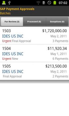 SAP Payment Approvals 2.2.0