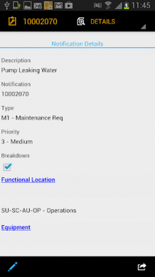 SAP Work Manager for Phone 6.1.0.140991