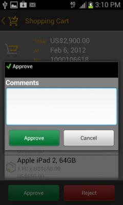 SAP Cart Approval 2.3