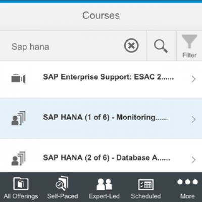 SAP Enterprise Support Academy 1.0.8