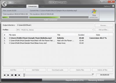 VSDC Бесплатный Аудио Конвертер 1.6.5.353