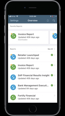 SAP BusinessObjects Mobile 6.7.6