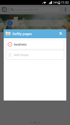 Deft Pages for Next Browser 1.0