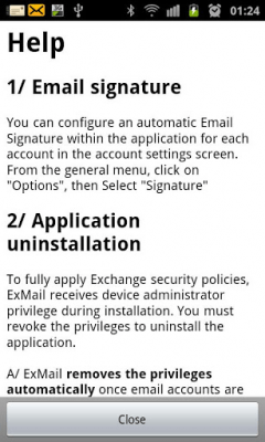 ExMail (Exchange) 2.5.2
