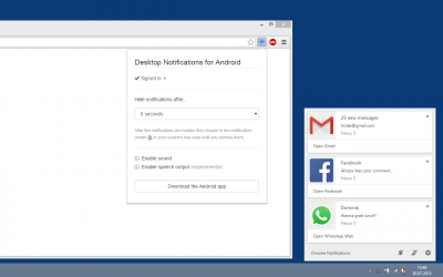 Desktop Notifications 2.6.3