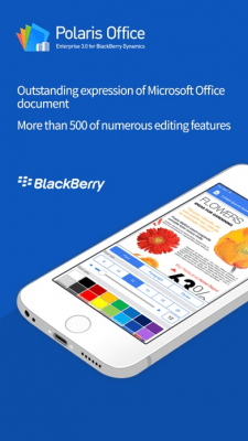 POLARIS Office for BlackBerry 3.0.17