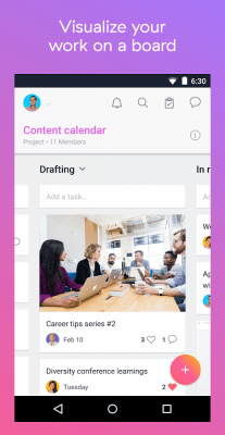 Asana: organize team projects 6.9.1