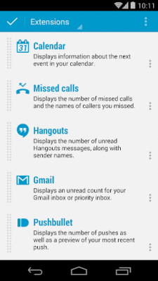DashClock Calendar Extension 1.1