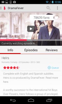 DramaFever - Watch TV & Dramas 01.01.69