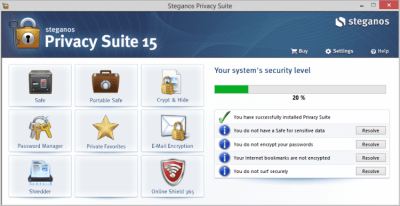 Steganos Privacy Suite 19.0.0