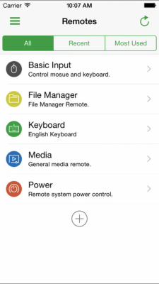 Unified Remote 1.5.0