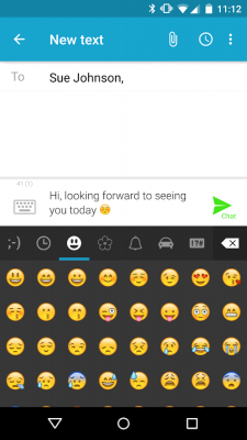 Forward SMS texting w/ 2phones 4.3.1