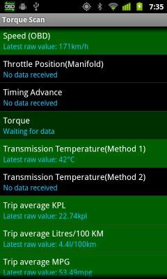 TorqueScan (Torque OBD Plugin) 1.8