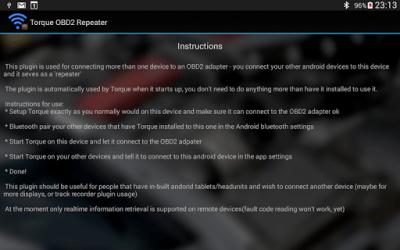 Torque OBD2 Repeater (beta) 1.0.1Beta