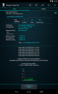 Ping and Trace Pro 3.02.02