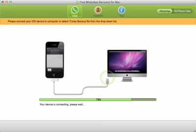 Free WhatsApp Recovery for Mac 1.0.0.0