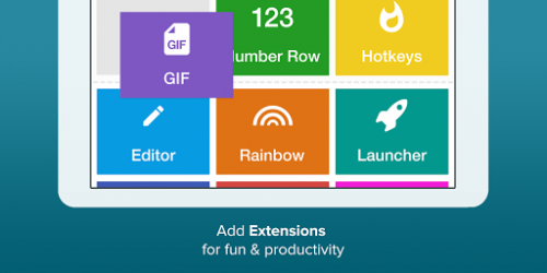 Fleksy клавиатура — бесплатно 9.7.4