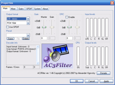 X Codec Pack (XP Codec Pack) 2.7.4