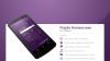 Скачать Purple Homescreen Theme