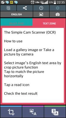 Простой текст Сканер (OCR) 52